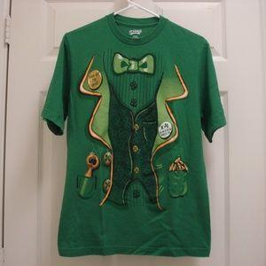 St Patrick's Green St Pat's Day Tee Shirt Sz Small